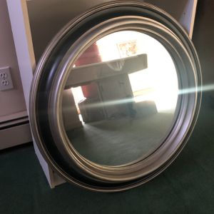 Mirror 31 Inches Across , Solid Wood Backing for Sale in Stamford, CT