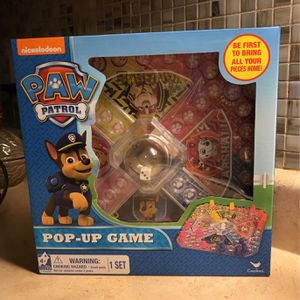 Nickelodeon Paw Patrol Pop Up Game for Sale in Lorain, OH
