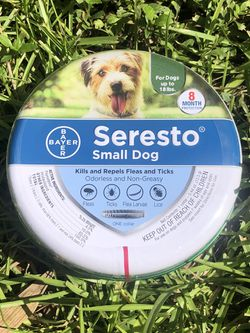 Bayer Seresto Flea and Tick Collar Small Dogs Under 18lbs for Sale in Gainesville,  FL
