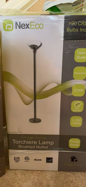Energy Saving Torchiere Lamps for Sale in Stockton, CA