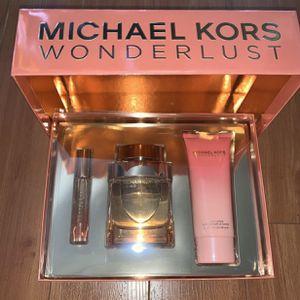 Michael Kors Wonderlust Fragrance Gift art for Sale in Eastvale, CA
