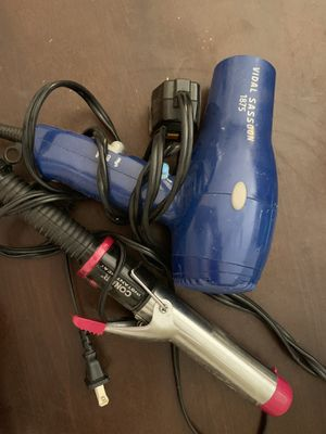 Curler and hair dryer for Sale in Phoenix, AZ