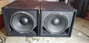 "18"" pro audio subwoofers for Sale in Chula Vista, CA"