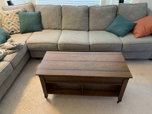Lift-top coffee table for Sale in Newcastle, WA