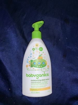babyganics moisturizing lotion 9oz for Sale in Lakewood, CA
