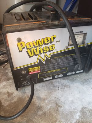 Power Wise Golf Cart Charger for Sale in Middleburg, FL