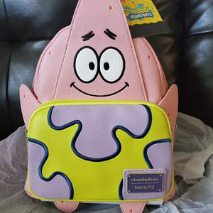 ❤ADORABLE❤ Loungefly Nickelodeon Patrick from Spongebob Backpack for Sale in San Bernardino, CA