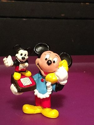 Mickey mouse plastic toy collectible figurine for Sale in Hamilton, OH