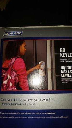 Schlage keypad entry door lock for Sale in Marysville, WA
