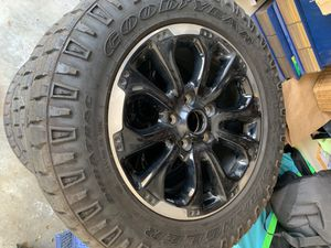 Jeep Dodge off road rims w/tires - Must Sell! for Sale in Calabasas, CA