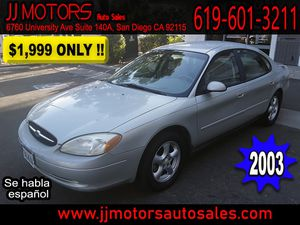 Ford Taurus SES 2003 for Sale in San Diego, CA