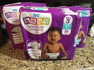 Dollar General Diapers Sz. 3 for Sale in Fort Washington, MD