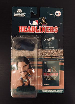 """1996 Mike Piazza LA Los Angeles Dodgers MLB Baseball Corinthian Headliners 3"""" Action Figure - BRAND NEW! for Sale in Citrus Heights, CA"""