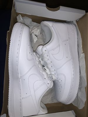 Nike Air Force ones all white for Sale in Phoenix, AZ