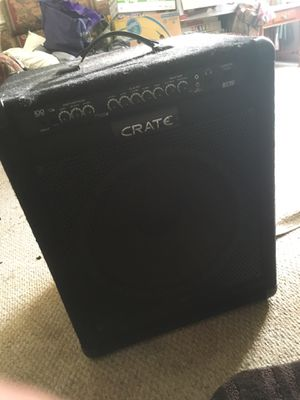 CRATE BT100 Bass amp for Sale in Virginia Beach, VA
