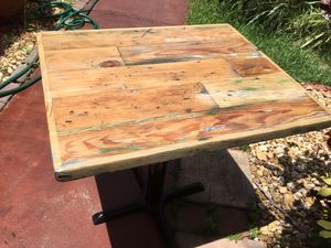 Nice wood table for Sale in Parkland, FL