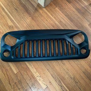 brand new. Jeep Wrangler JK matte black gladiator grille for Sale in Alexandria, VA