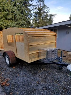 Teardrop trailer camper project for Sale in Tacoma, WA