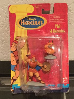 Vintage 1997 Mattel Disney Hercules Phil action figure toys for Sale in Coral Springs, FL