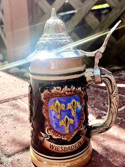 Vintage West Germany Stain Beer hand painted for Sale in Hialeah,  FL