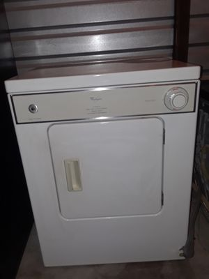 Cute and Adorable Small WHIRLPOOL Dryer!!! Delivery Available!! FREE Assembly of Appliance Upon Arrival! 30 Day Warranty Also Provided!! for Sale in Portsmouth, VA
