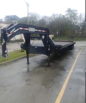 PJ 40ft gooseneck trailer for Sale in Humble, TX