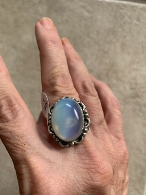 New moonstone sterling silver 925 size 9 for Sale in Inverness, IL