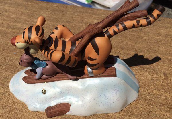 Disney Winnie The Pooh Tigger & Roo Figurine