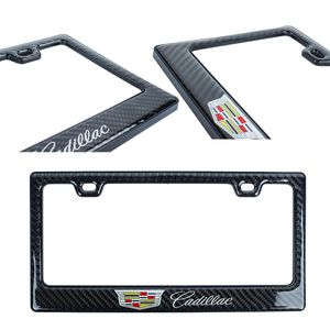 BRAND NEW 1PCS CADILLAC REAL CARBON FIBER LICENSE FRAME for Sale in El Monte, CA