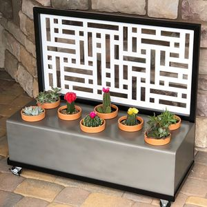 Home Decor - Planter Box with Wheeled Cart for Sale in Phoenix, AZ