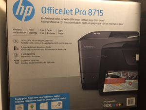 HP OFFICEJET PRO 8715 for Sale in Saint Albans City, VT