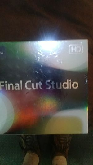 Final Cut Studio Upgrade DVD Software. for Sale in New Franklin, OH