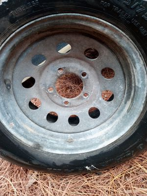 Trailer tire/ rim for Sale in Kenneth City, FL