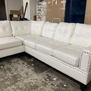 New Leather Sectional Couch /$50 down for Sale in Los Angeles, CA