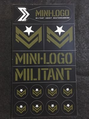 "Large ""Mini-Logo"" Skate Sticker Sheet for Sale in Pismo Beach, CA"