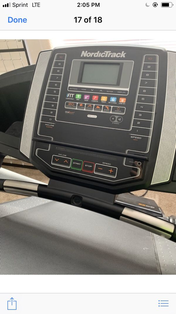 TREADMILL BY NORDICTRACK WITH COMPUTER