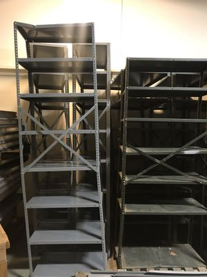 Metal shelving for Sale in Beverly, NJ
