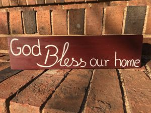 God bless this home sign for Sale in Durham, NC