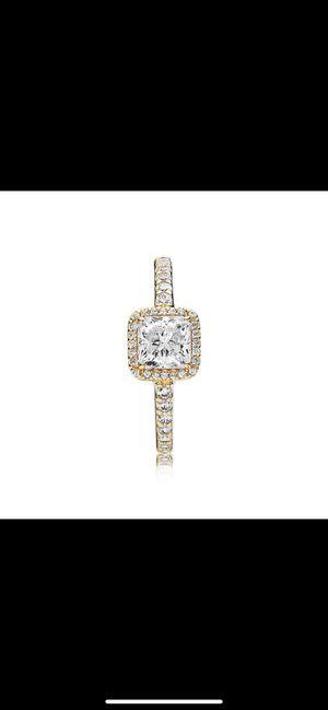 Pandora Timeless Elegance Ring, 14K Gold for Sale in Bangor, ME
