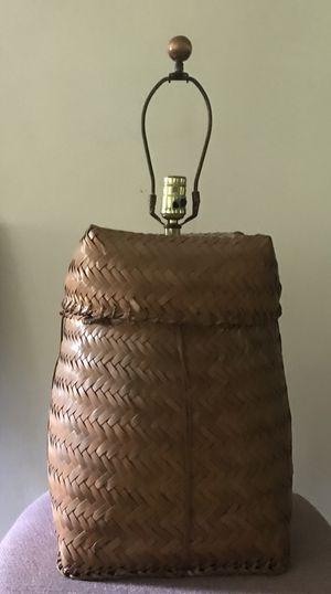 Basket lamp vintage for Sale in Cleveland, OH