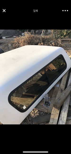 Camper shell for 6 feet 4 inch bed. Fit ram 1500 etc. for Sale in Corona, CA