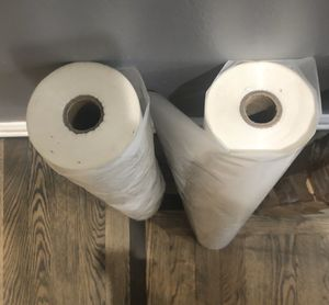 NEW - Thermal Laminating Film, 2 Rolls - Retails for $105 for Sale in Channahon, IL