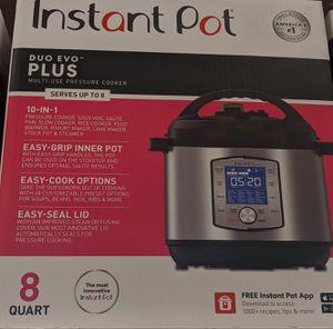 Instant pot duo evo PLUS 8 qt for Sale in Beaverton, OR
