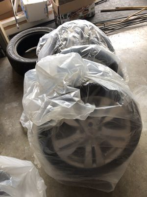 Four Mercedes Benz Tires and Rims: great condition, some new with bolts for Sale in Oakland Park, FL
