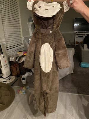 Pottery Barn Toddler Monkey custome for Sale in Wake Forest, NC