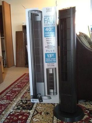 """Upright 40"""" Tower Fan only (not the 13"""" desktop fan) for Sale in Kirkland, WA"""