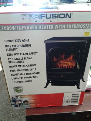Profusion 1000w Infrared Heater with Thermostat for Sale in Stockton, CA