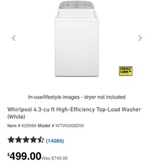 Whirlpool washer and gas dryer like new! 800 obo serious buyers only! for Sale in Hawthorne, CA