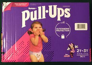 Huggies Girls Pull-Ups Training Pants 2T-3T (74 ct) for Sale in Atlanta, GA