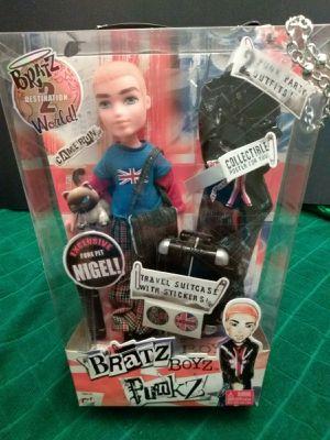 Unopened Bratz PunkZ Cameron Doll + Telephone Booth NIB for Sale in Roseville, CA